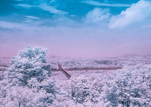 Hudson Valley Landscape by Ernest Puglisi