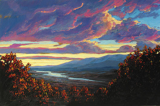 Hudson Valley Sunset XII by Patty Baker
