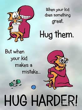 Hug Harder by Pet Serrano