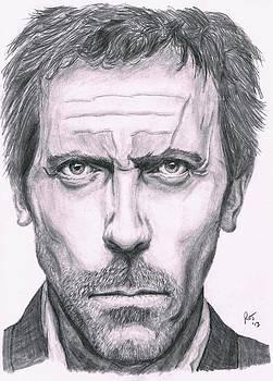 Hugh Laurie by Ryan Jacobson
