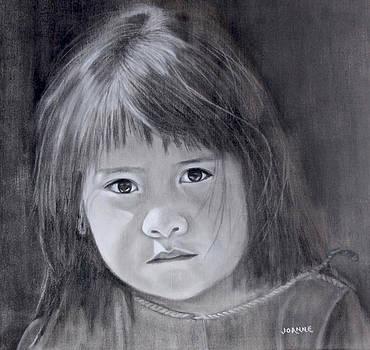 Huichol Girl by Joanne Giesbrecht