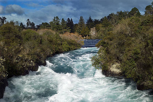 Huka Falls by Keith Growden