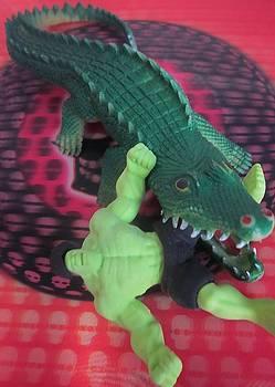 Cherie Sexsmith - Hulk vs Croc