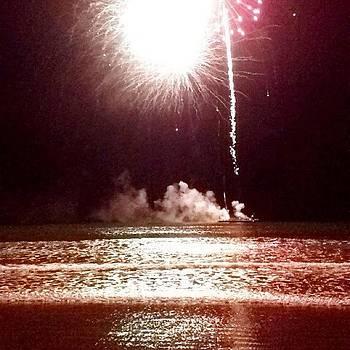 #hull #fireworks #nantasketbeach by Eugene Bergeron