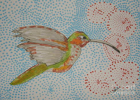 Humming Around by Marcia Weller-Wenbert