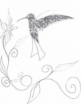 Humming Bird2 by Kali Kardsbykali