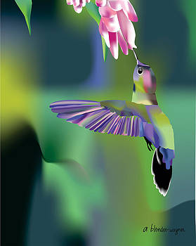 Hummingbird by Arline Wagner