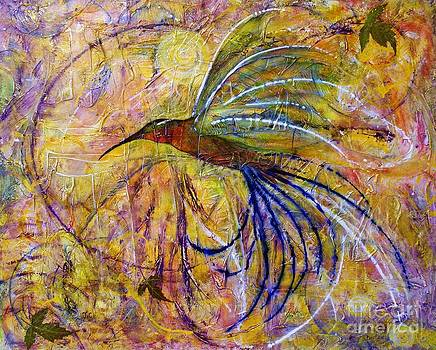 Hummingbird Don't Fly Away by Jane Chesnut