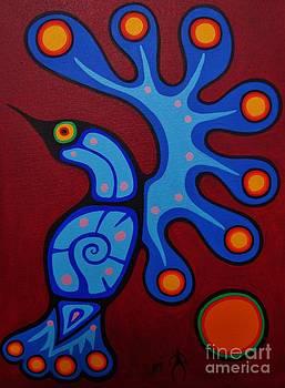 Hummingbird by Jim Oskineegish