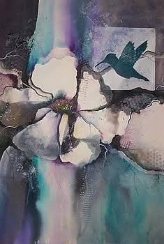 Hummingbird Magnolia Flowers by Pat Gorrow