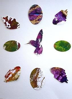 Hummingbird mantra by Paula Sche-Baldwin