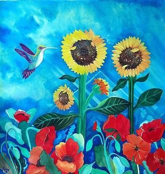 Hummingbird by Rene LeGrue