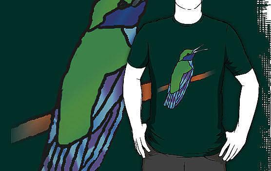 Jeanette K - Hummingbird Shirt