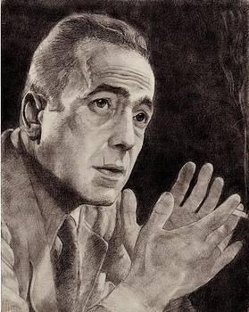 Humphrey Bogart by Glenn Daniels