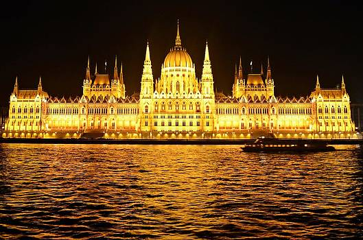 Hungarian Parliament by Victoria Dimitrova