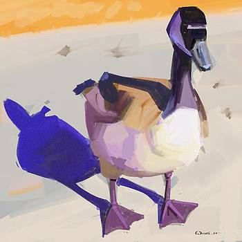 Hungry Goose by  Edward Joel Wittlif