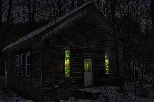 Hunter's Cabin by David Simons