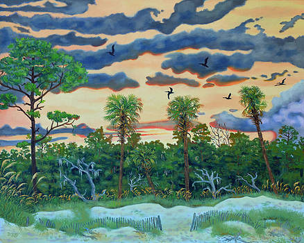 Hunting Island - 2 by Dwain Ray