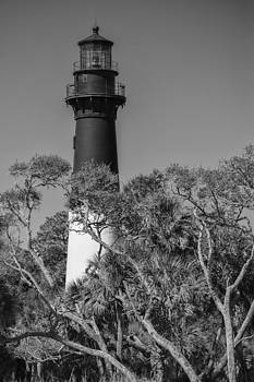 Hunting Island Light by Brian Young