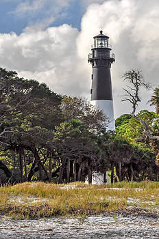 Hunting Island Lighthouse by Donnie Smith