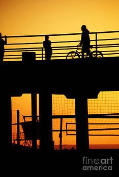 Rachel Barrett - Huntington Beach at Sunset