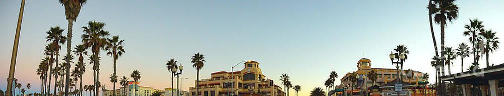 Huntington Beach Panorama by Timothy OLeary