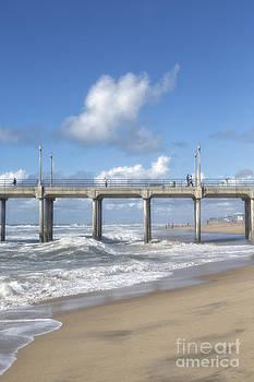 Susan Gary - Huntington Beach Pier and Beach