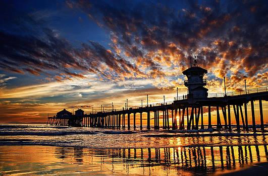 Huntington Beach Pier by Micah Dimitriadis