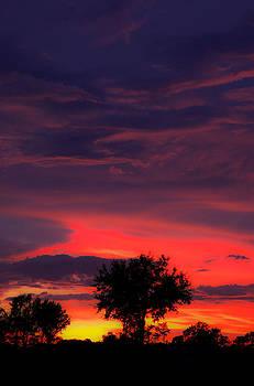 Huricane Sunset by Zachary Cox