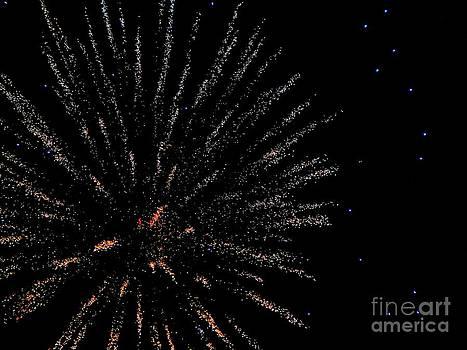 Huron Ohio Fireworks 14 by Jackie Bodnar