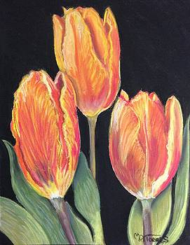 Hurry Up Spring Tulips by Melissa Torres