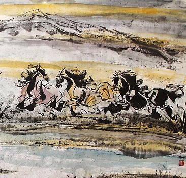 Hurry up by Xiaochuan Li