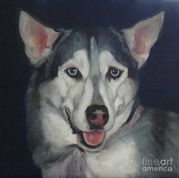 Husky by Pet Whimsy  Portraits