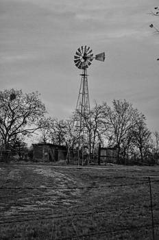 Hwy 20 Windmill by Kelly Kitchens