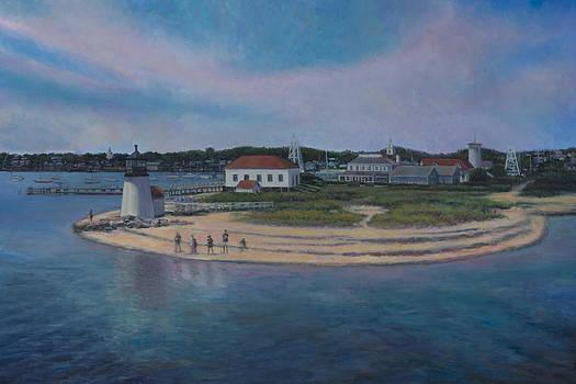 Brant Point Beach, Nantucket, MA by David P Zippi