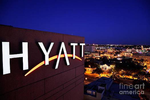 Jo Ann Snover - Hyatt sign