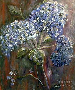 Hydrangea Bouquet at Dawn by Eloise Schneider