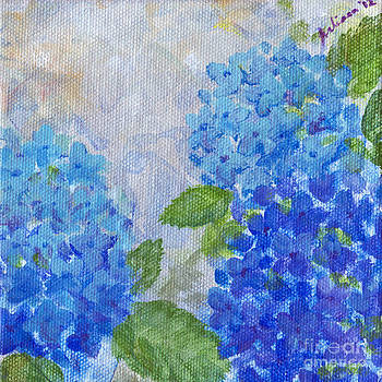 Hydrangeas on a Cloudy Day by Arlissa Vaughn