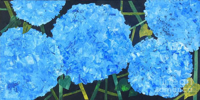 Hydrangeas by Paula Drysdale Frazell