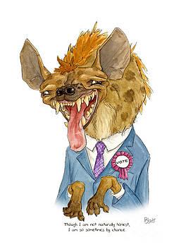 Hyena by Blair Bailie
