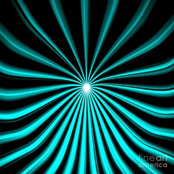 Pet Serrano - Hyperspace Cyan Square