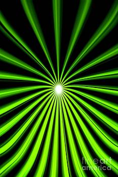 Pet Serrano - Hyperspace Electric Green Portrait