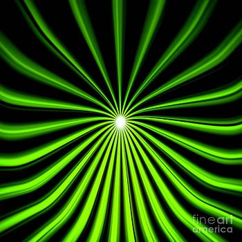Pet Serrano - Hyperspace Electric Green Square
