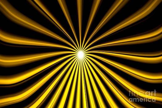 Pet Serrano - Hyperspace Gold Landscape