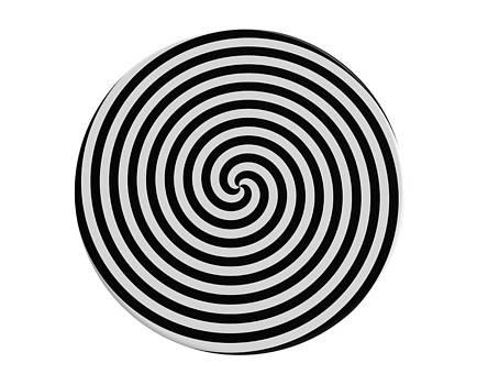 Hypnotic spiral by Borislav Marinic
