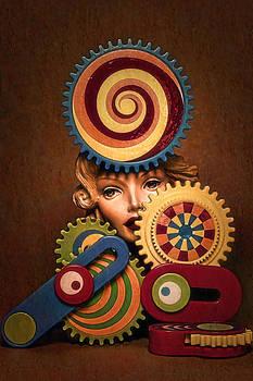 Hypnotic Woman 1 by Jeff  Gettis