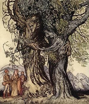 Arthur Rackham - I Am Old Philemon! Murmured The Oak