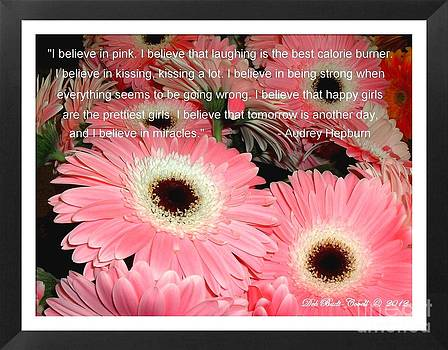 I Believe in Pink by Deb Badt-Covell
