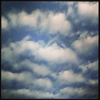I Caught The Some Clouds Today Hehe by Melissa Eve