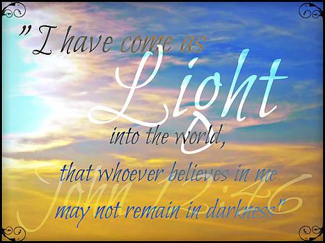 Sharon Tate Soberon - I have come as Light